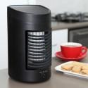 Piccolo Ventilatore Refrigeratore da Tavolo Evaporatore d'Aria Fresca con serbatoio d'acqua all'interno cod. BD-167
