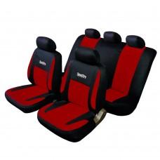 Coprisedili per Auto universali Schienale Posteriore frazionabile Bracciolo e airbag Compatibile Mod. Recife